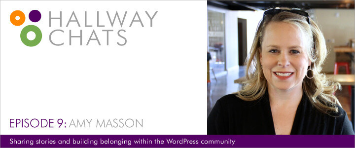 Hallway Chats: Episode 9 - Amy Masson