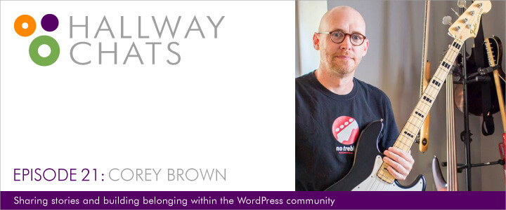 Hallway Chats: Episode 21 - Corey Brown