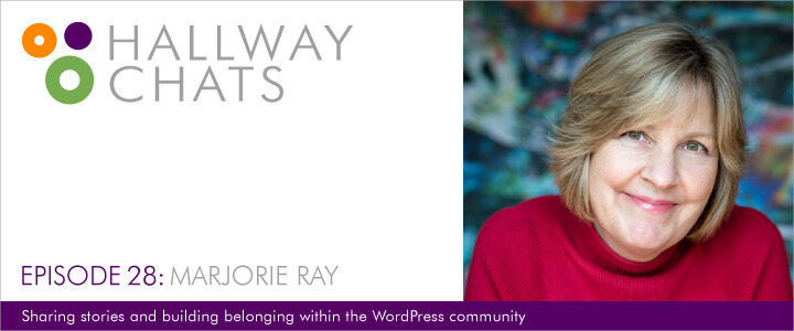 Hallway Chats: Episode 28 - Marjorie Ray