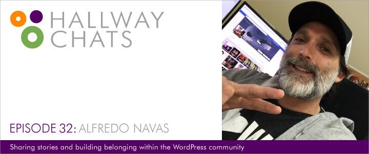 Hallway Chats: Episode 32 - Alfredo Navas