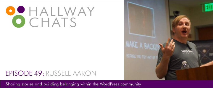 Hallway Chats: Episode 49 - Russell Aaron