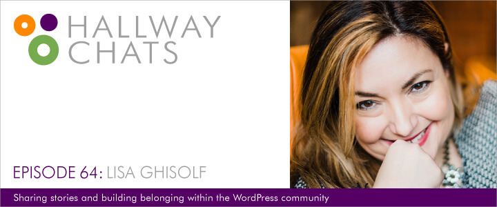 Hallway Chats: Episode 64 - Lisa Ghisolf