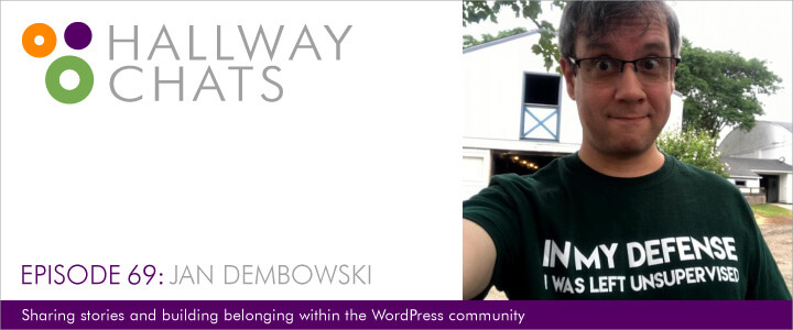Hallway Chats: Episode 69 - Jan Dembowski