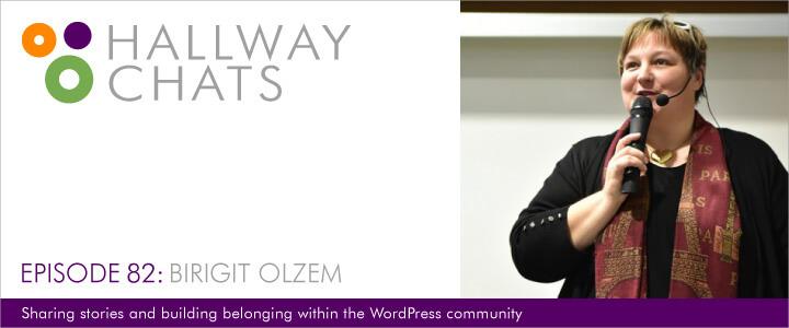 Hallway Chats: Episode 82- Birgit Olzem
