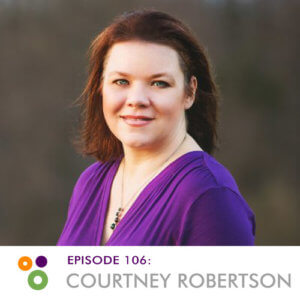 Hallway Chats: Episode 106 - Courtney Robertson