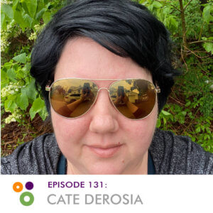 Hallway Chats Episode 131 Cate DeRosia