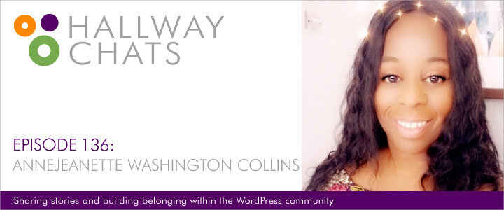 Hallway Chats Episode 136 Annejeanette Washington Collins