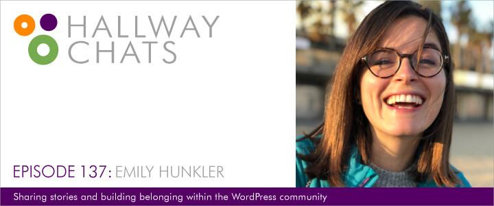 Hallway Chats Episode 137 Emily Hunkler