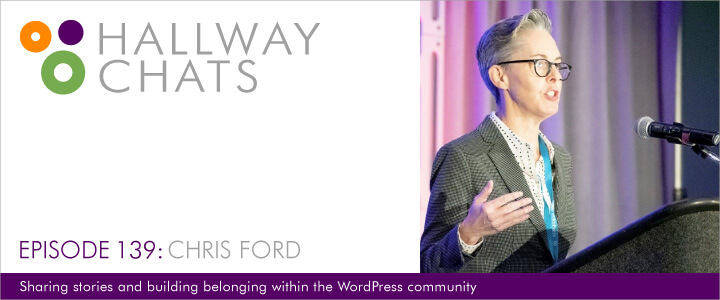 Hallway Chats Episode 139 Chris Ford