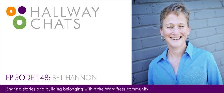 Hallway Chats Episode 148 - Bet Hannon
